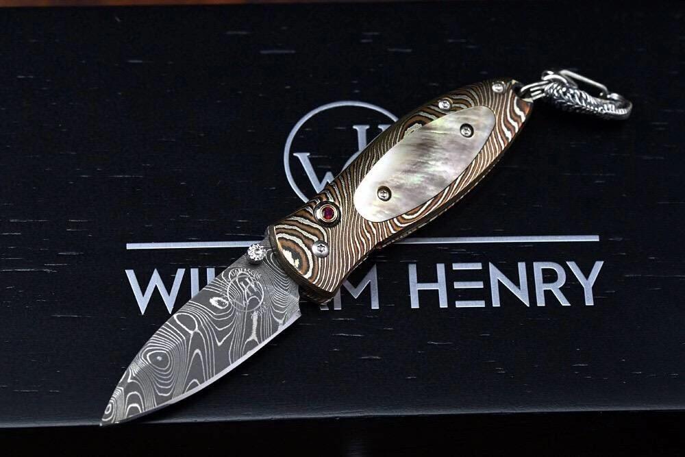 威廉亨利吊坠刀 B02 现 7800