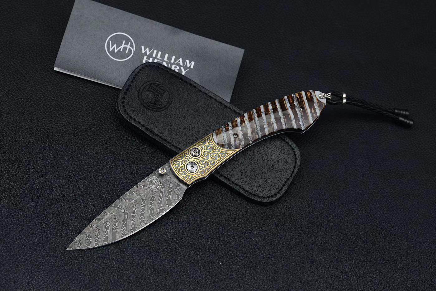 威廉亨利绅士折刀 B12 PASTIME 现 17200