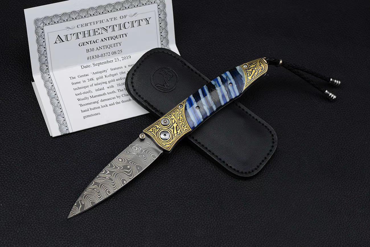 威廉亨利 经典折刀 B30-antiquity 现 15800